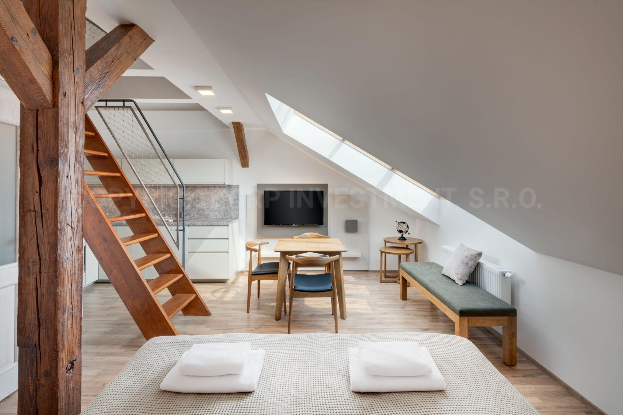 Krátkodobý pronáje studio apartmánu v Praze